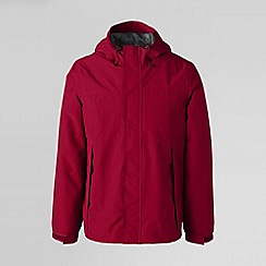 Lands' End - Red men's squall® rain jacket