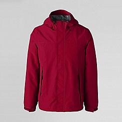 Lands' End - Red men's squall® rain jacket