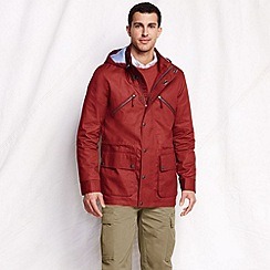 Lands' End - Orange men's casual cotton jacket