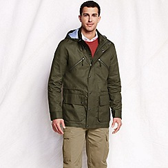 Lands' End - Green men's casual cotton jacket