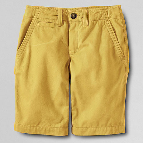 Lands+ End - Yellow boys+ cadet shorts