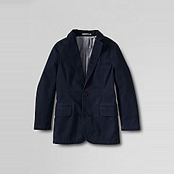 Lands' End - Boys' blue washed chino blazer