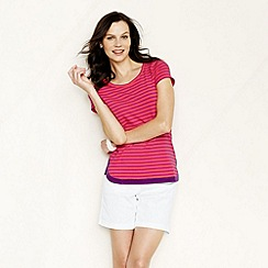 Lands' End - Pink women's petal hem tee