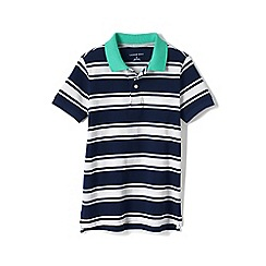 Lands' End - Blue boys mesh polo