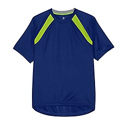 Lands' End - Blue men's short sleeve active tee