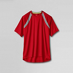 Lands' End - Red men's short sleeve active tee