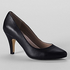 Lands' End - Black women's court shoes