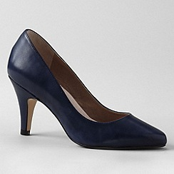 Lands' End - Blue women's court shoes