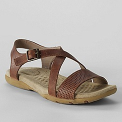 Lands' End - Beige women's terrain sandals