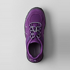Lands' End - Purple kids' trekker oxford shoes