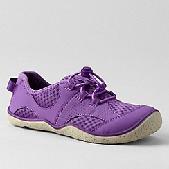 Lands' End - Purple kids' oxford water shoes