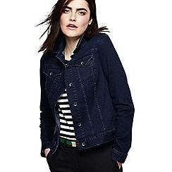Lands' End - Blue regular indigo denim jacket