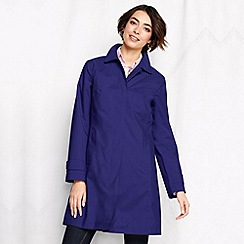 Lands' End - Purple women's coastal rain coat