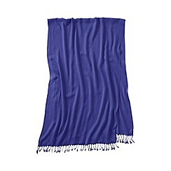 Lands' End - Purple women's lovely solid scarf