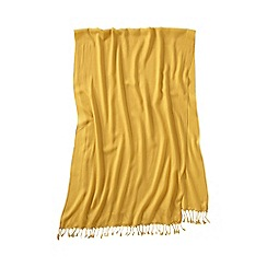 Lands' End - Gold women's lovely solid scarf