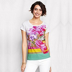 Lands' End - Multi women's plus art tee