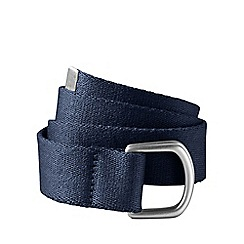 Lands' End - Blue boys' d-ring webbing belt