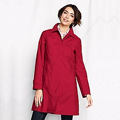 Lands' End - Red women's coastal rain coat
