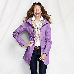Lands' End - Purple women's cotton parka