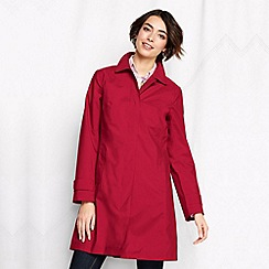 Lands' End - Red women's plus coastal rain coat