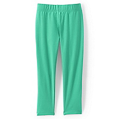 Lands' End - Girls Toddler Green cropped leggings
