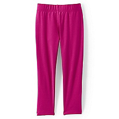 Lands' End - Girls Toddler Pink cropped leggings