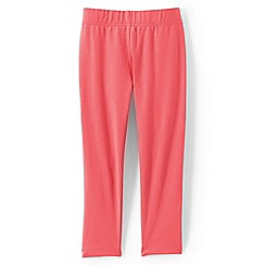 Lands' End - Girls Toddler Orange cropped leggings