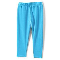 Lands' End - Blue girls' cropped leggings