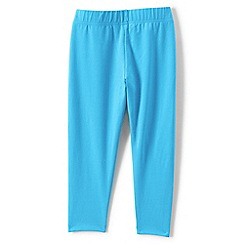 Lands' End - Blue girls' cropped leggings