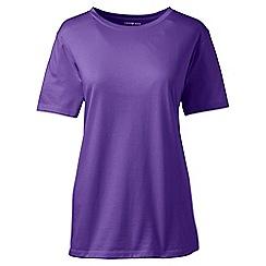 Lands' End - Purple tall supima short sleeve crew neck tee