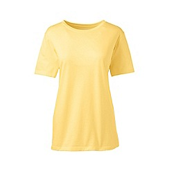 Lands' End - Yellow tall supima short sleeve crew neck tee