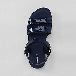 Lands' End - Blue girls' darcy play sandals