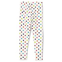 Lands' End - Girls' multi patterned ankle-length leggings