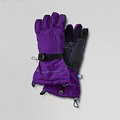 Lands' End - Purple girls' expedition gloves