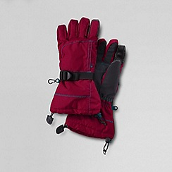 Lands' End - Red boys' expedition gloves