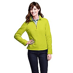 Lands' End - Green women's polartec aircore 100 half-zip