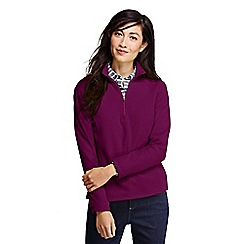 Lands' End - Purple women's polartec aircore 100 half-zip