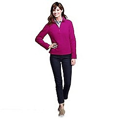 Lands' End - Pink polartec aircore 100 half-zip