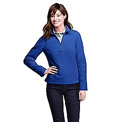 Lands' End - Blue women's polartec aircore 100 half-zip