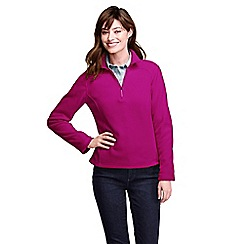 Lands' End - Pink women's polartec aircore 100 half-zip