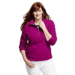 Lands' End - Pink plus polartec aircore 100 half-zip