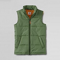 Lands' End - Green boys' insulated gilet