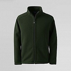 Lands' End - Green men's sherpa fleece jacket