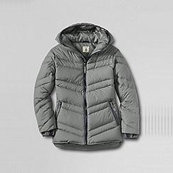 Lands' End - Grey boys' down parka