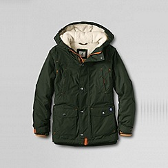 Lands' End - Green boys' expedition parka