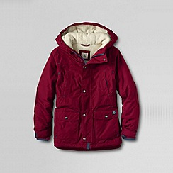 Lands' End - Red boys' expedition parka