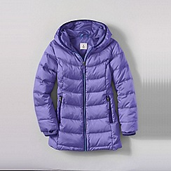 Lands' End - Purple girls' down parka