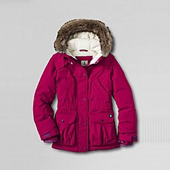 Lands' End - Pink girls' expedition parka