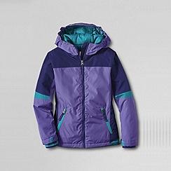 Lands' End - Purple girls' stormer jacket