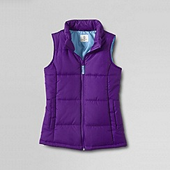 Lands' End - Purple girls' insulated gilet